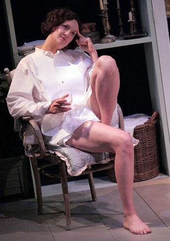 Charlotte Hamblin in Miss Julie