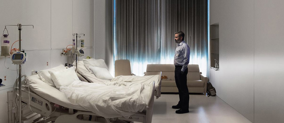 Colin Farrell in The Killing of a Sacred Deer - Credit IMDB