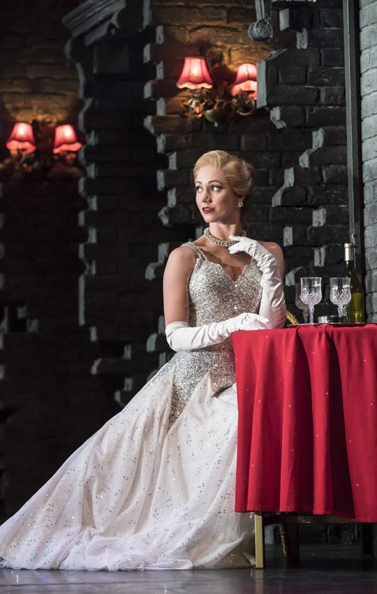 Ashley Shaw in Cinderella - Credit Johan Persson