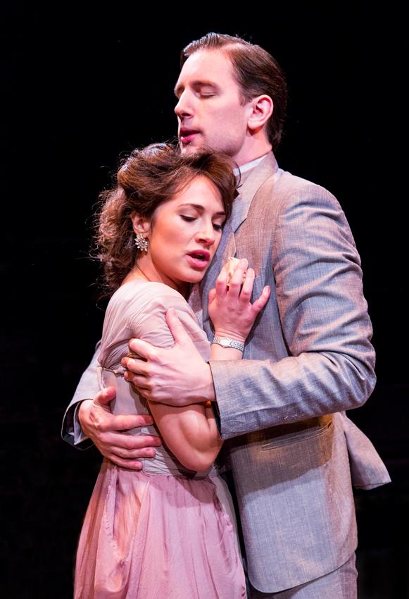 Charlotte Brimble and Edward Sayer in Dear Brutus - Credit Mitzi de Margary