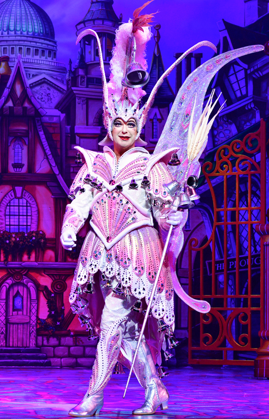 Julian Clary in Dick Whittington - Credit Paul Coltas