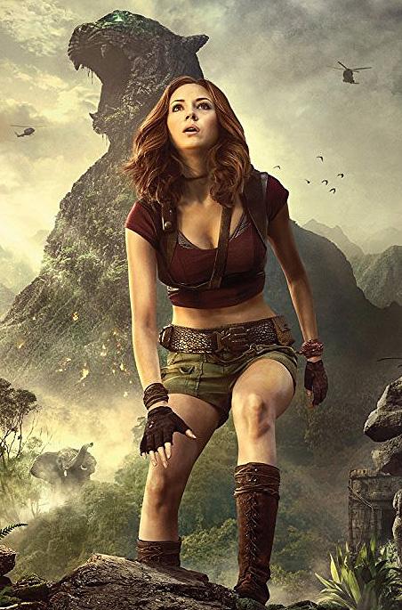 Karen Gillan in Jumanji: Welcome to the Jungle - Credit IMDB