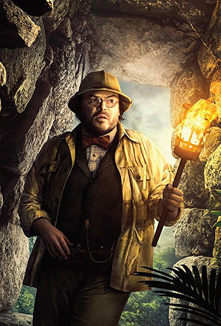 Jack Black in Jumanji: Welcome to the Jungle - Credit IMDB