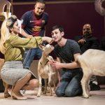 6 goats make their stage debut at Royal Court Theatre