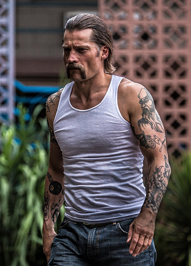 Nikolaj Coster-Waldau in Shot Caller - Credit IMDB