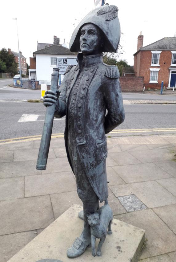 Donington - Statue of Matthew Flinders