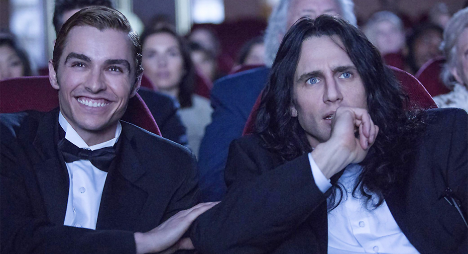 James Franco and Dave Franco in The Disaster Artist - Credit IMDB