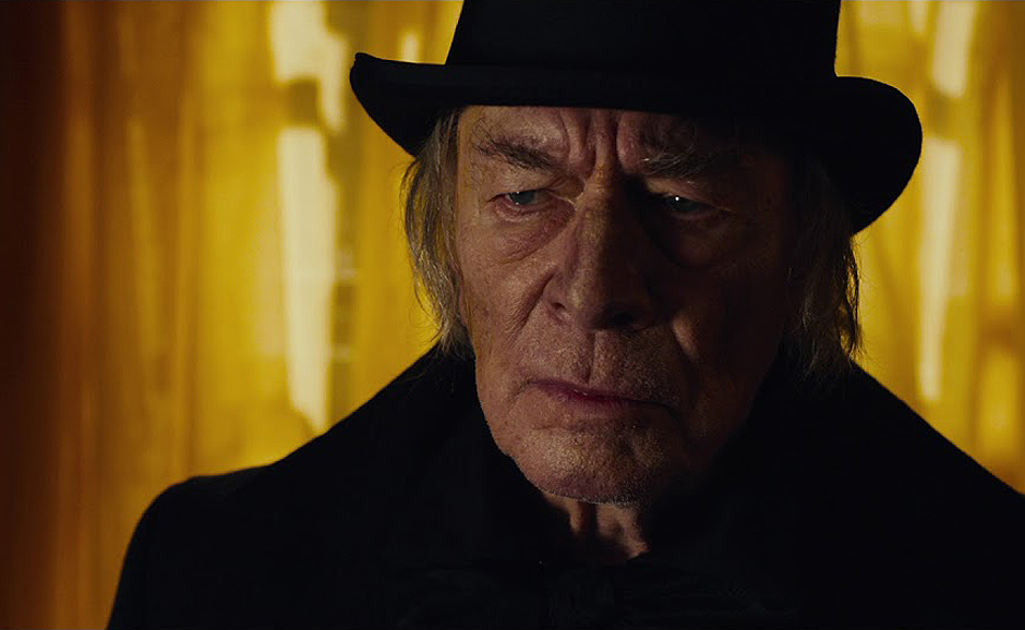 Christopher Plummer in The Man Who Invented Christmas - Credit YouTube