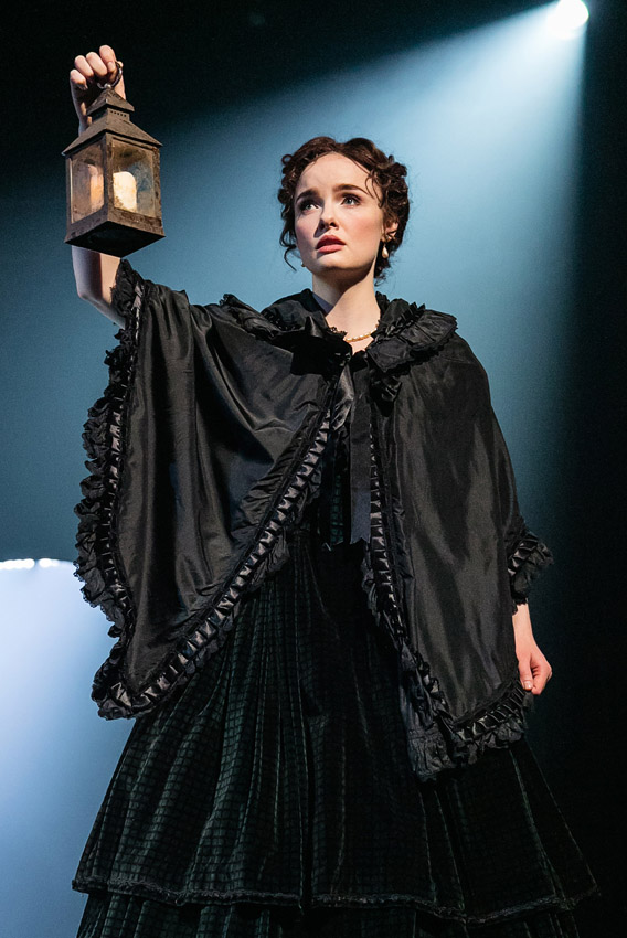 Anna O'Byrne in The Woman in White - Credit Darren Bell