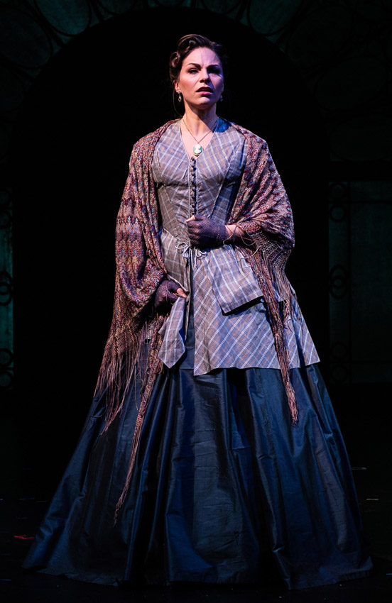 Carolyn Maitland in The Woman in White - Credit Darren Bell