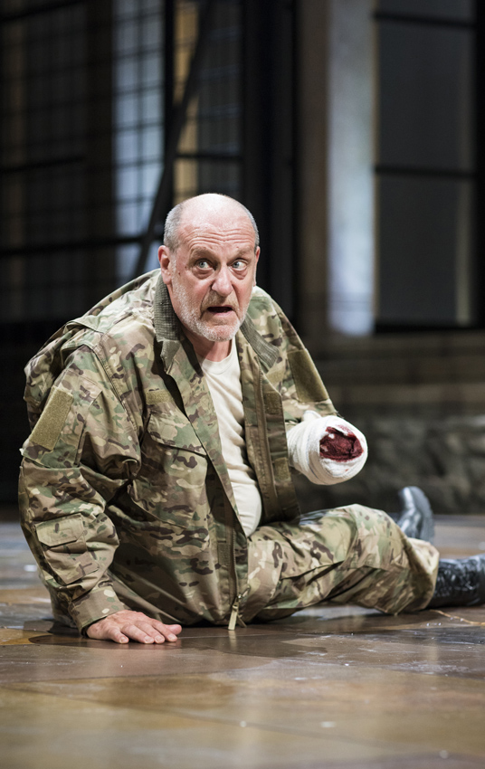 David Troughton in Titus Andronicus - Copyright RSC - Credit Helen Maybanks