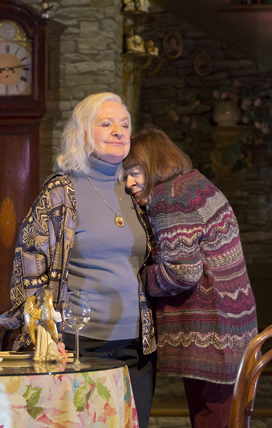 June Watson and Marylouise Burke in John - Credit Stephen Cummiskey