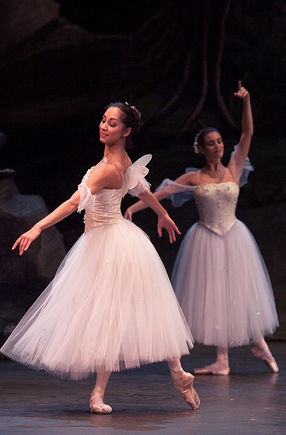 English National Ballet in La Sylphide - Copyright Laurent Liotardo