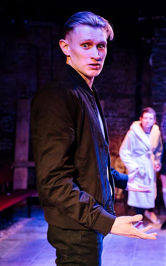 James Craze in East - Copyright Alex Brenner