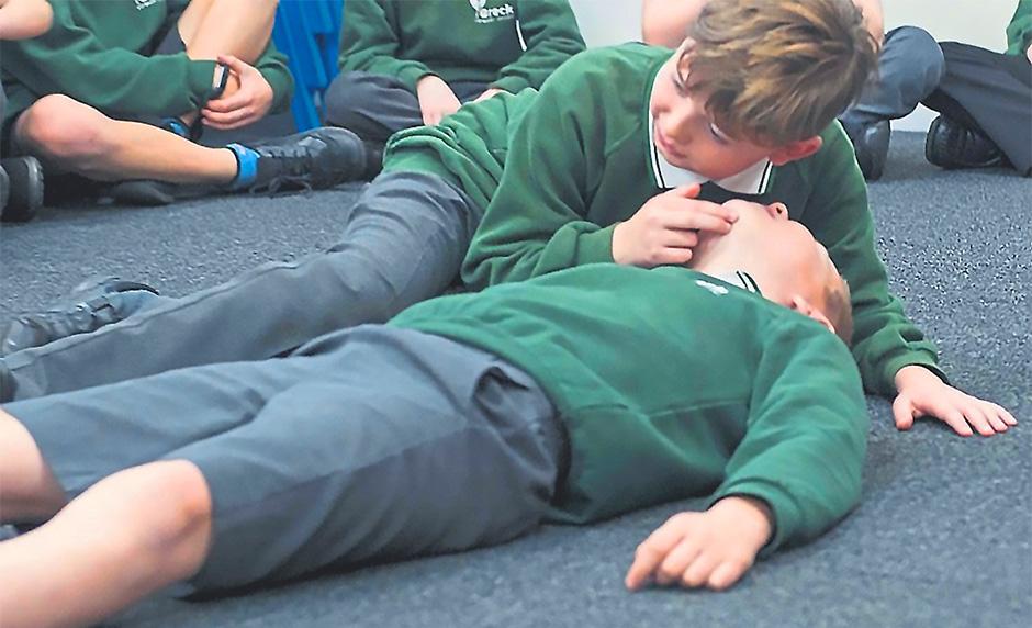 Children - First aid