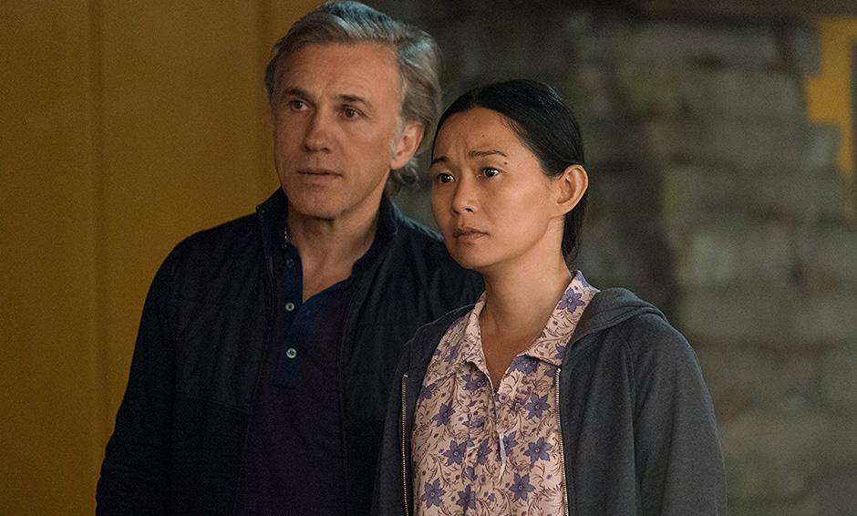 Christoph Waltz and Hong Chau in Downsizing - Credit IMDB