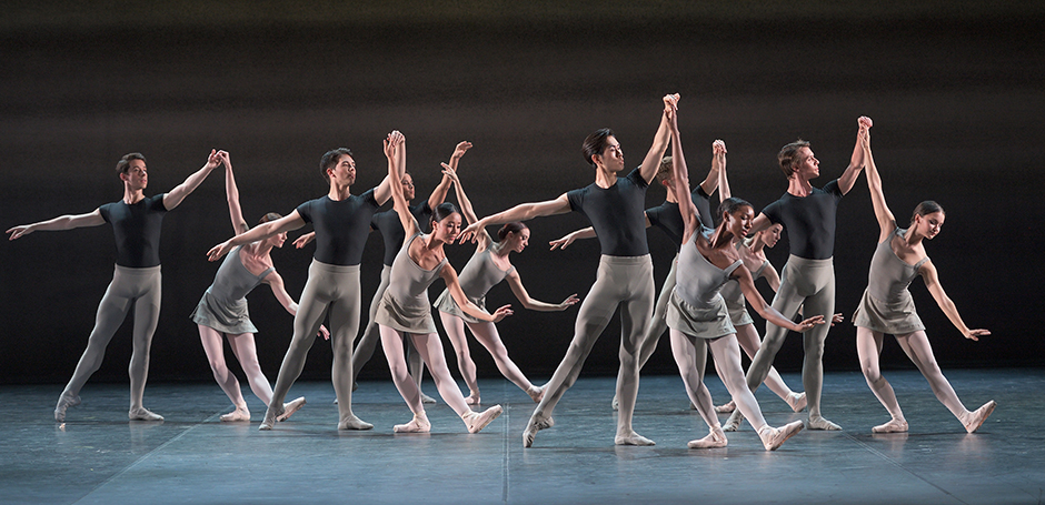 English National Ballet in Song of the Earth - Copyright Laurent Liotardo