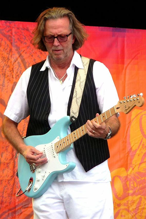 Eric Clapton in Eric Clapton: Life in 12 Bars - Credit IMDB