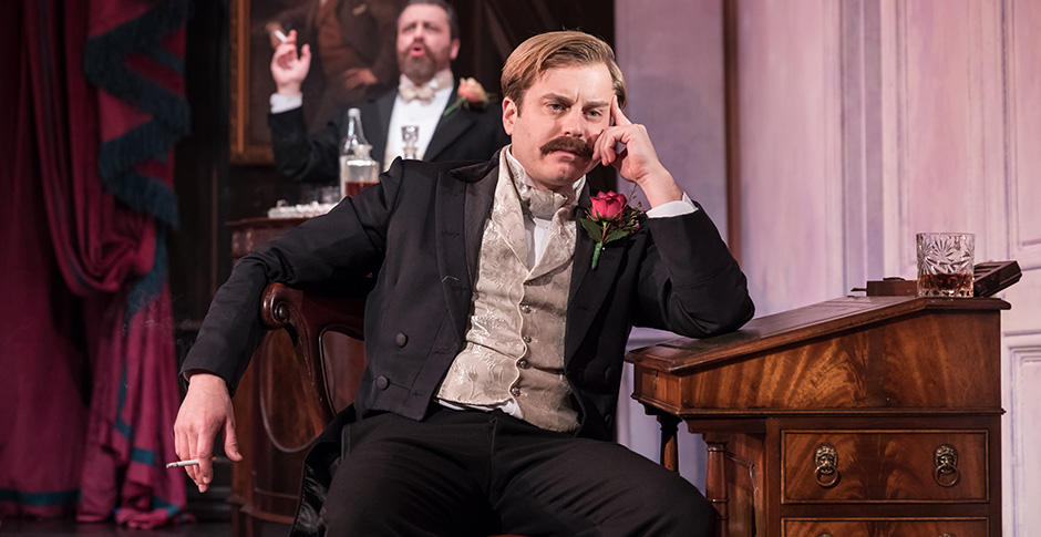 Kevin Bishop in Lady Windermere's Fan - Credit Marc Brenner