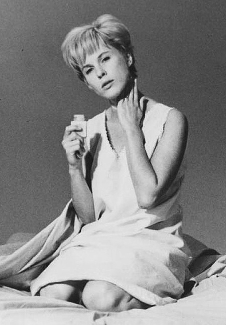 Bibi Andersson in Persona - Credit IMDB