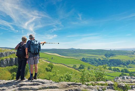 Old couple walking - Silver Travel Adviser