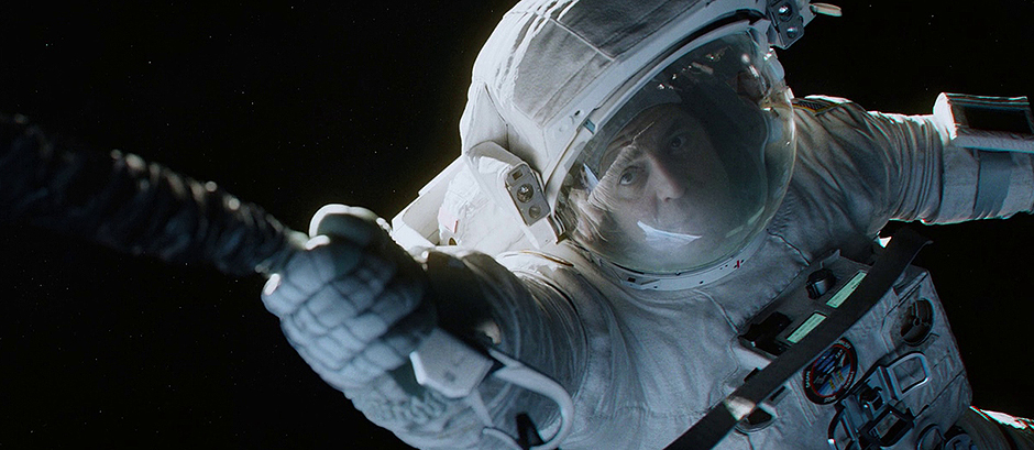 George Clooney in Gravity - Credit IMDB