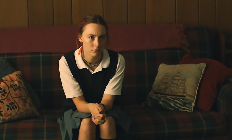 Saoirse Ronan in Lady Bird - Credit IMDB