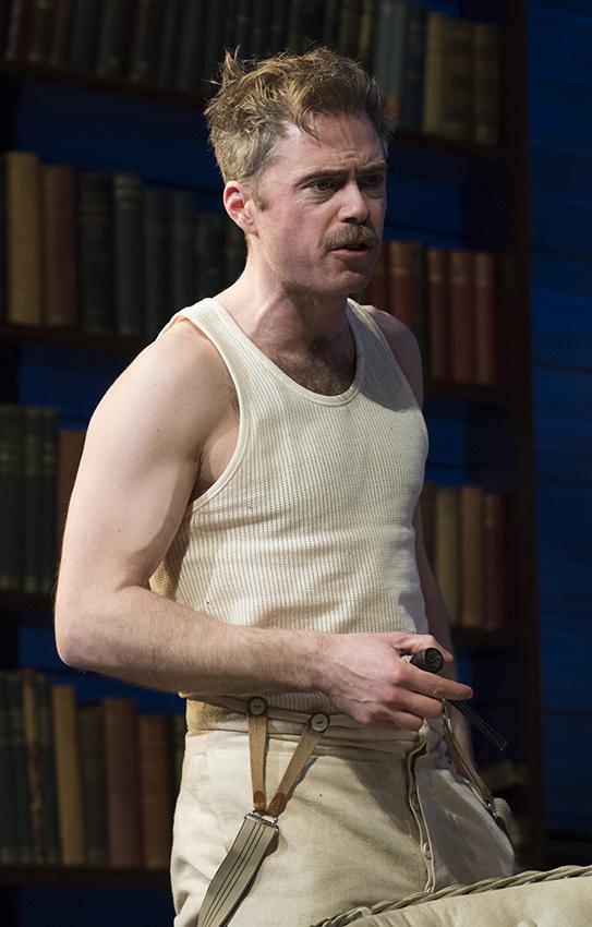 Rory Keenan in Long Day's Journey Into Night - Credit Hugo Glendinning