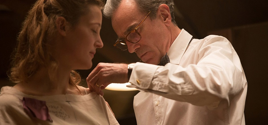 Daniel Day-Lewis and Vicky Krieps in Phantom Thread - Credit IMDB