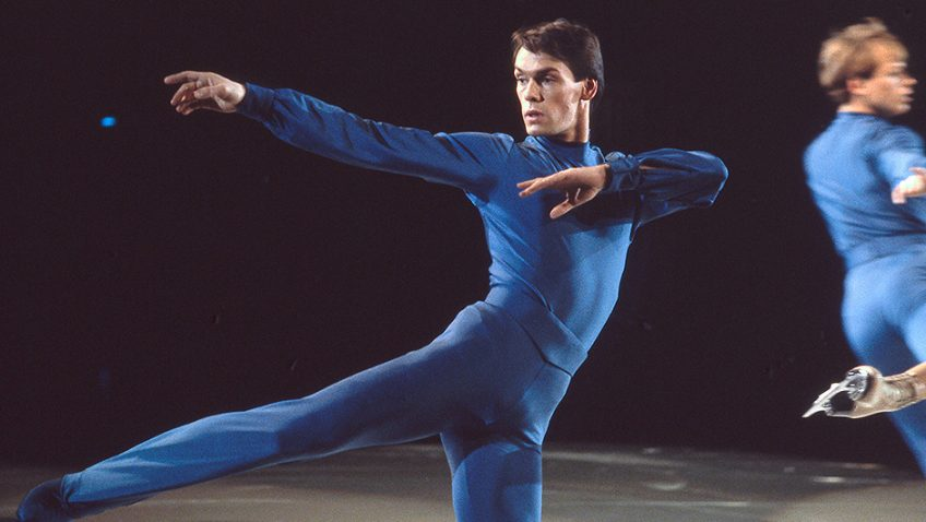A sublime and moving portrait of British figure skater John Curry