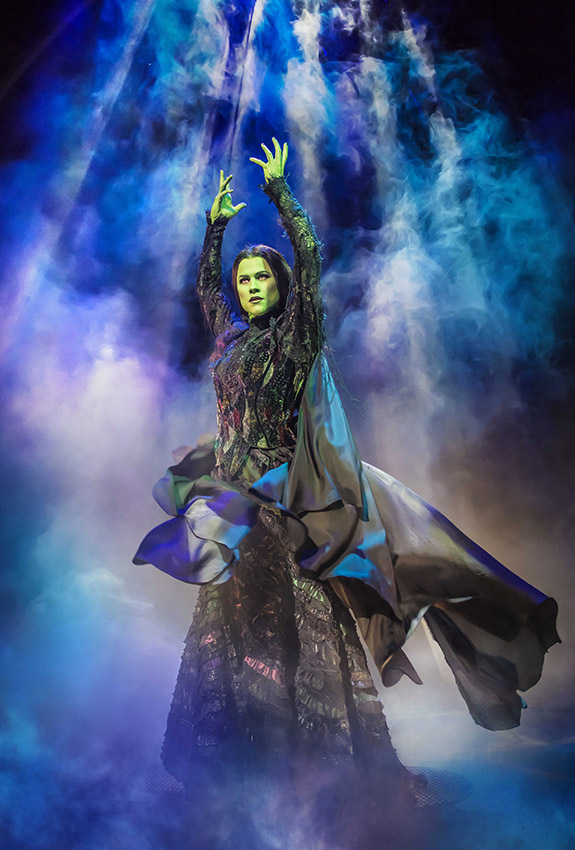 Amy Ross in Wicked - Credit Matt Crockett