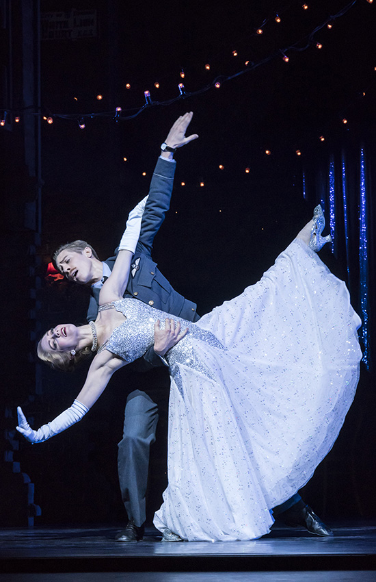Andrew Monaghan and Ashley Shaw in Cinderella - Credit Johan Persson