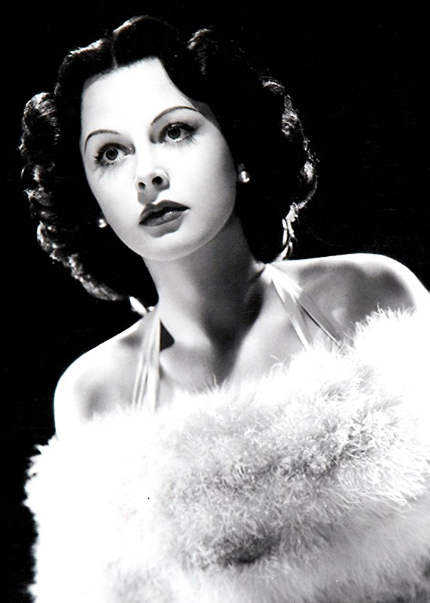 Hedy Lamarr in Bombshell: The Hedy Lamarr Story - Credit IMDB