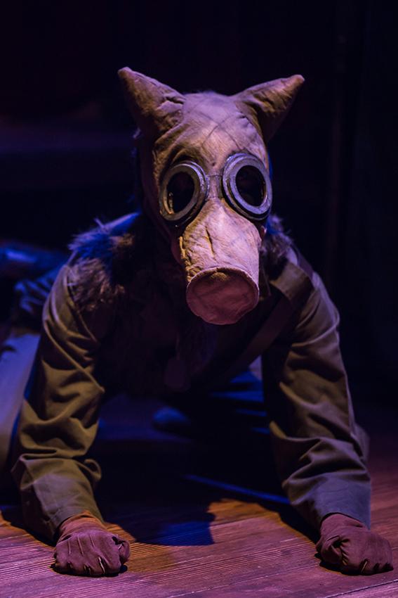 Cressida Bonas in The Dog Beneath the Skin - Credit Sam Taylor