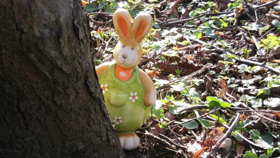 It's Easter – on the trail for chocolate!