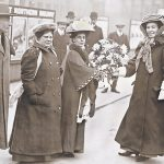 Suffragettes in trousers