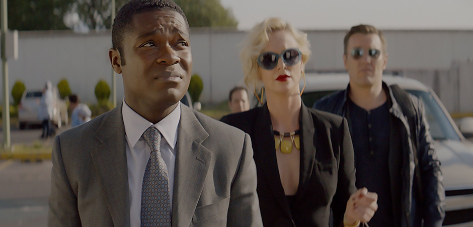 Charlize Theron, Joel Edgerton and David Oyelowo in Gringo - Credit IMDB
