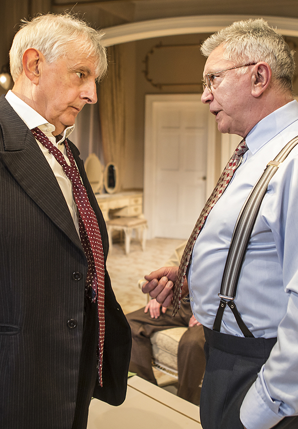 Jack Shepherd and Martin Shaw in The Best Man - Credit Pamela Raith