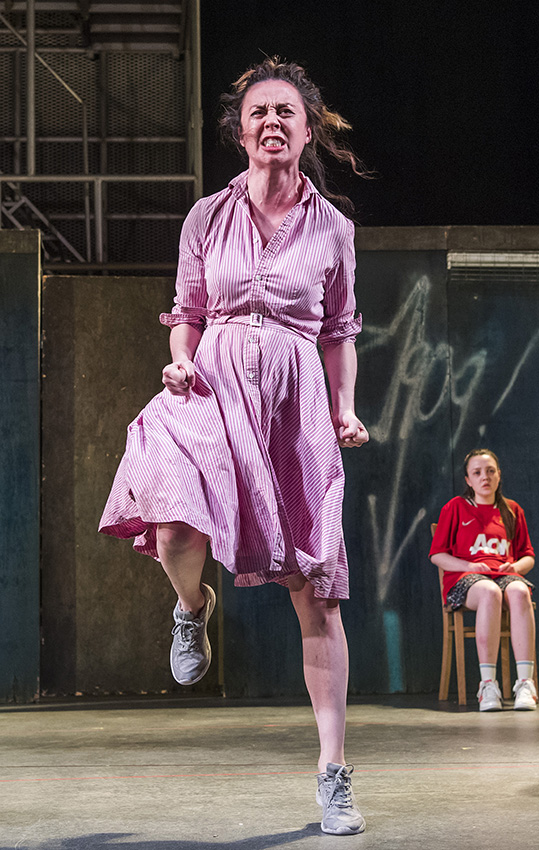 Kate Stanley Brennan and Julie Maguire in The Plough and the Stars - Credit Tristram Kenton