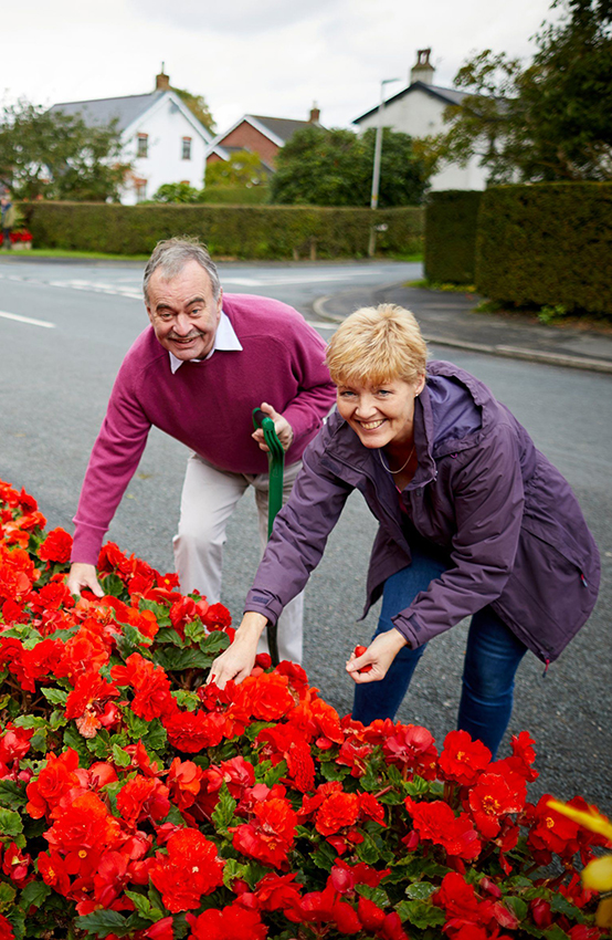 Elswick village - Britain in Bloom competition