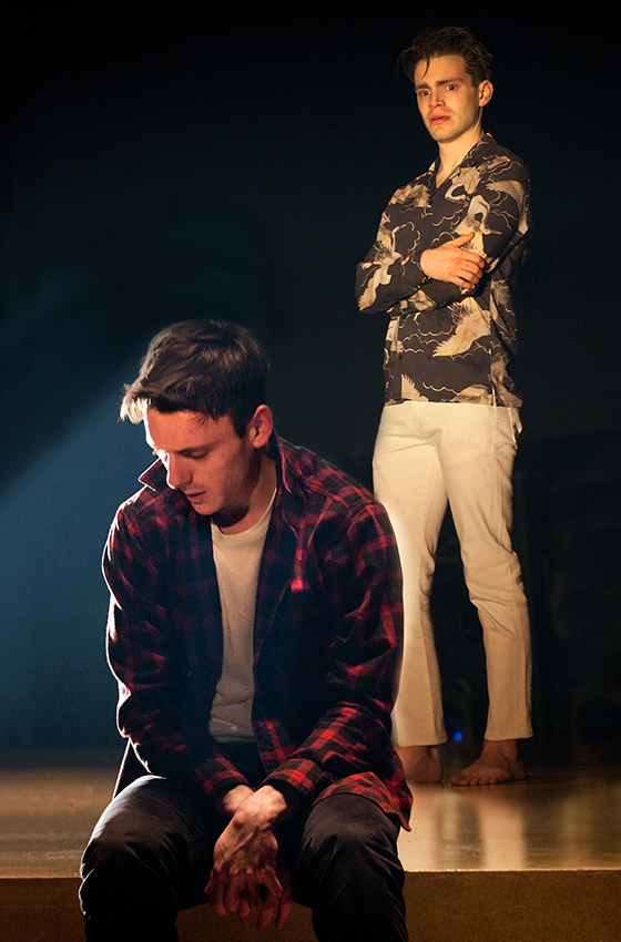 Samuel H. Levine and Andrew Burnap in The Inheritance - Credit Simon Annand