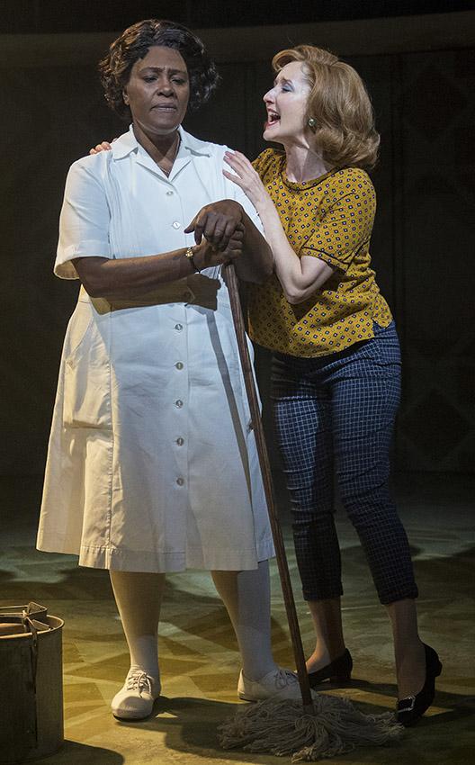Sharon D. Clarke and Lauren Ward in Caroline, or Change - Credit Alastair Muir