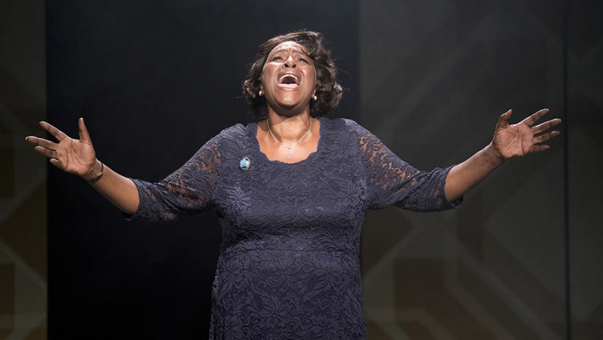 A terrific performance by Sharon D. Clarke in Caroline, or Change