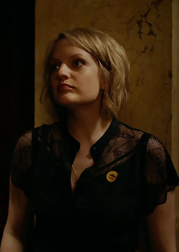 Elisabeth Moss in The Square - Credit IMDB