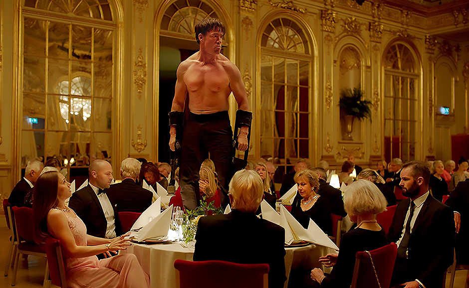 Terry Notary in The Square - Credit IMDB
