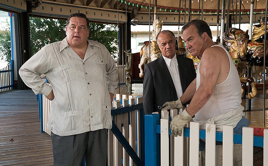 Jim Belushi, Steve Schirripa and Tony Sirico in Wonder Wheel - Credit IMDB