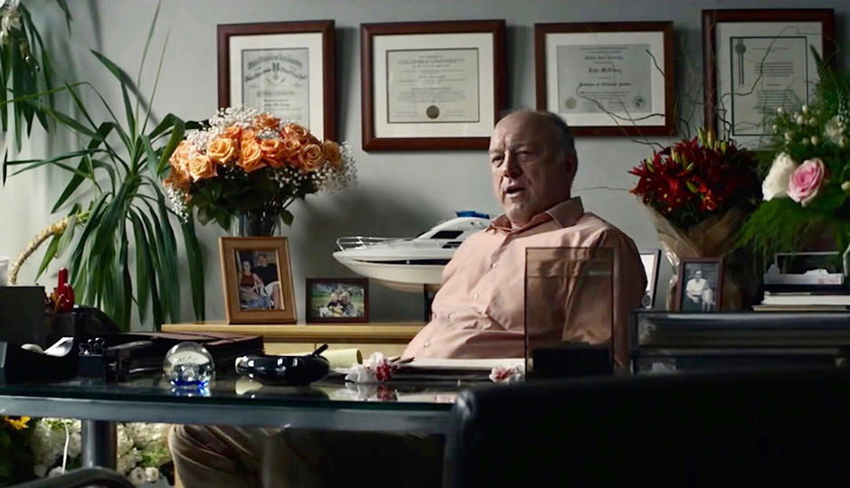 John Doman in You Were Never Really Here - Credit IMDB
