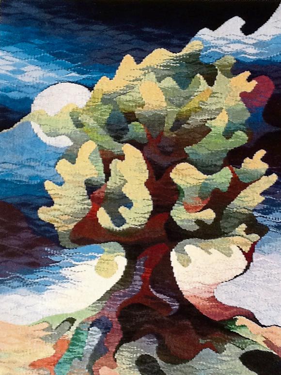 Oak In Moonlight by Michael Crompton