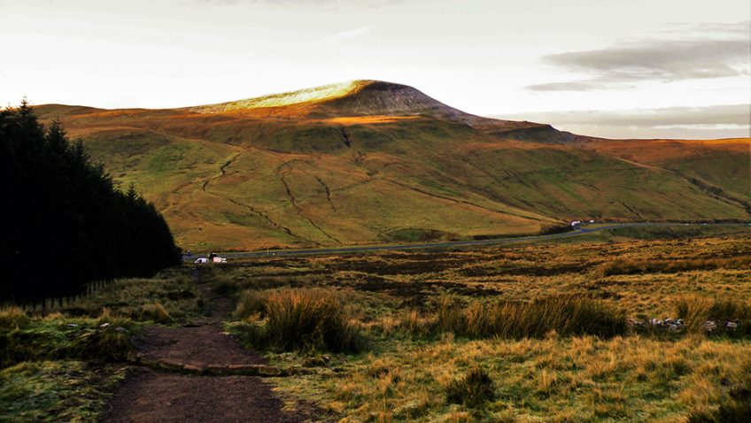 'Stitch the wounds and heal the scars' of Pen y Fan