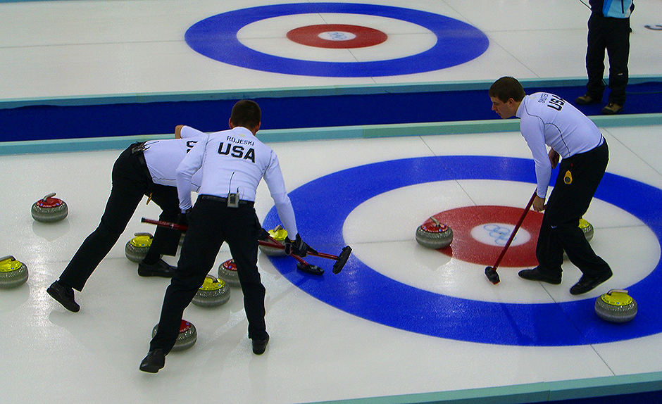 Winter Olympics - Curling - Free for commercial use No attribution required - Credit Pixabay